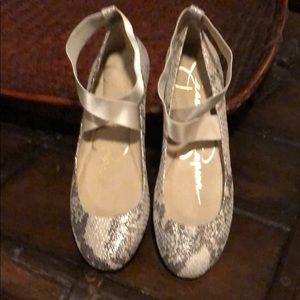 Jessica Simpson Ballet Flat Rounded Toe